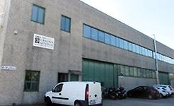 Fertigungswerk in Mailand (Italien)